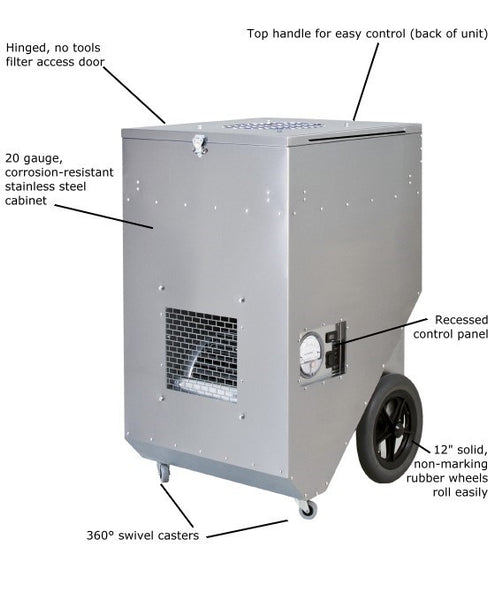 Abatement Technologies PAS1600SHS HEPA-AIRE Portable Air Scrubber