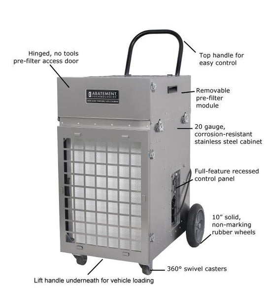 Abatement Technologies PAS2400 HEPA-AIRE Portable Air Scrubber