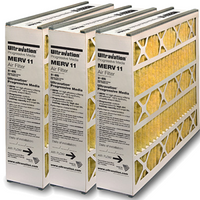 Ultravation Indoor Air Quality Products 91-005 16x25x5 MERV 11 Filter 3 Pack