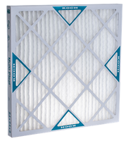 Koch Air Filter 16 x 25 x 1 MERV 8 Pleated Air Filter 12 Pack