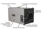 Abatement Technologies PAS600 HEPA-AIRE Portable Air Scrubber