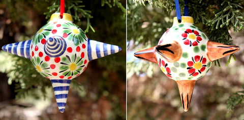 mexican ornament pinata decorative folk art hand painted gorky amazon mexico