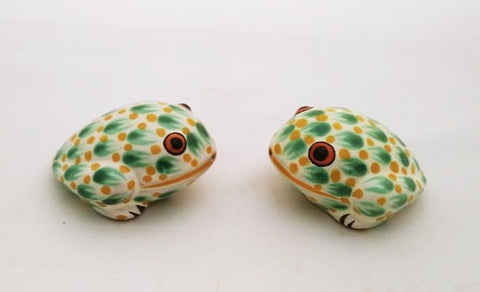mexican-ceramic-hand-made-mexico-frog-figure