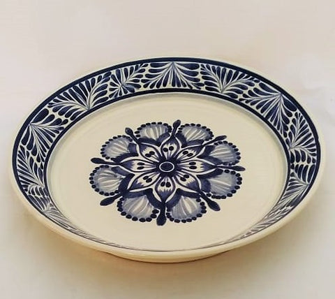 mexican-platers-talavera-style-ceramic-serving-handpainted