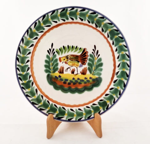 mexican plates ceramic hand craft hand painted made in mexico by gorky gonzalez workshop