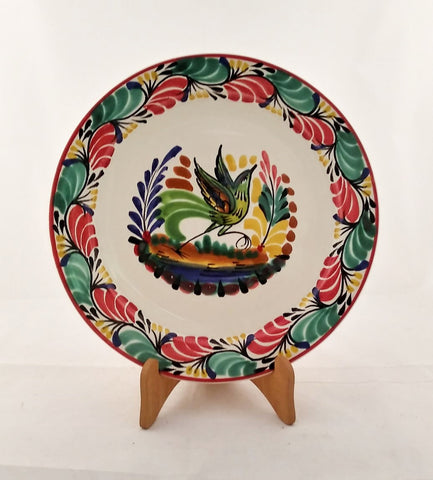 mexican plates dinner plate folk art amazon majolica hand made gorky workshop