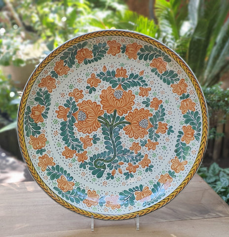 mexican-wall-platters-decorative-folk-art-hand-made-mexico-gorky-workshop
