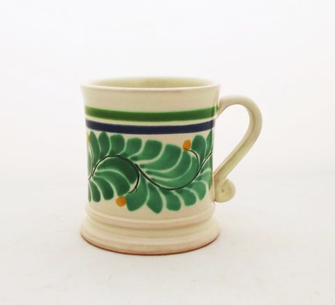 mexican mugs pottery folk art hand painted
