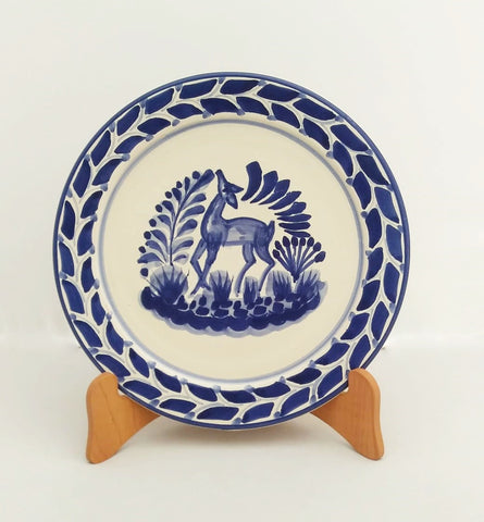 ceramic-plates-tableware-hand-made-mexico-deer-collection-talavera