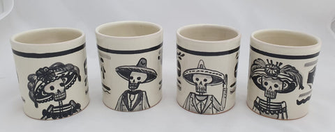 mexican-ceramic-mugs-handmade-handcrafts-catrina-folkart-halloween-decor