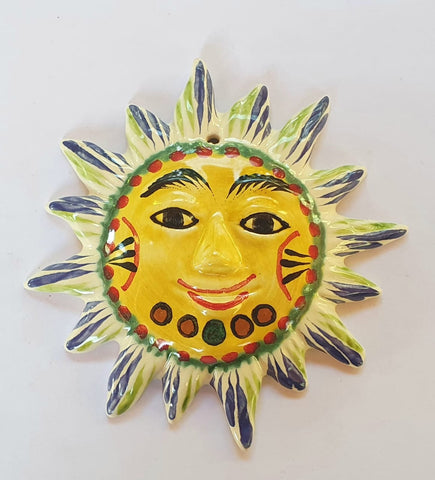 mexican-ornament-sun-pottery-gift