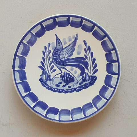 mexican-plates-talavera-pottery-folk-art-hand-thrown-amazon-gorky-workshop-bird-motive