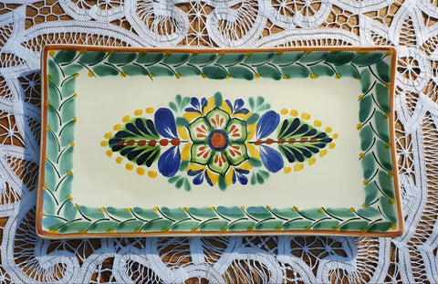 200430-01-01 mexican tray flower folk art hand painted amazon mexico gorky workshop
