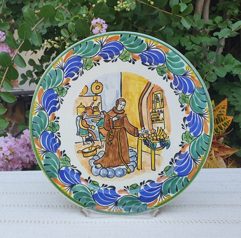 mexican ceramics dinnerware decor san pascual saint of kitchen