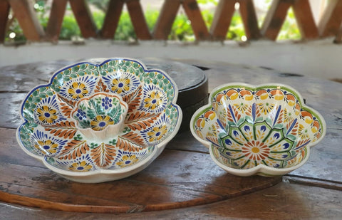 mexican-ceramic-hand-painted-table-decor-salad-bowl-and-tortilla-chip-and-dip