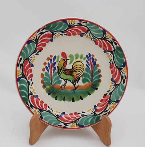 handcrafts-mexico-christmas-rooster-salad-plate-tableware-amazon-gifts
