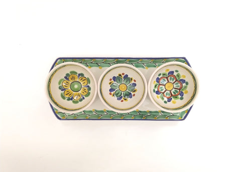 mexican pottery ceramic saucer table setting ideas majolica hand painted