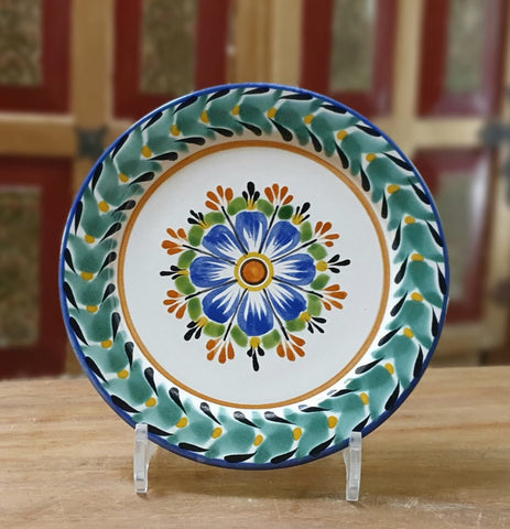 Flower Plates-ceramic-plates-handcrafts-hand painted-Gorky Pottery-Majolica (2)