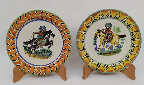 mexican plates amazon folk art hand made cowboy collection gorky workshop