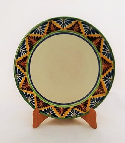 mexican plates folk art hand made mexico