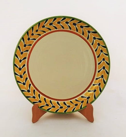 mexican plates charger dinner plate folk art