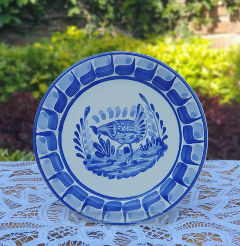 mexican plates folk art charger dinner plate dinnwerate table decor