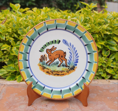 mexican plates hand painted dinnerware table decor
