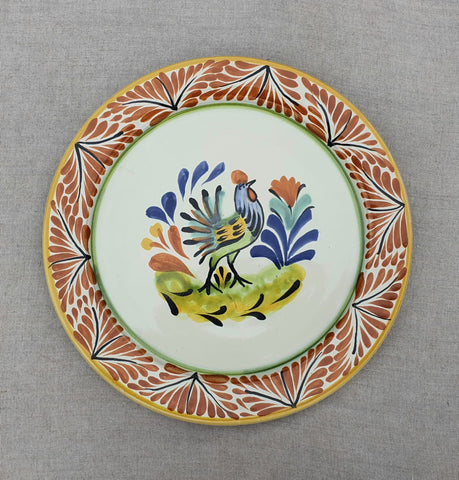 mexican plates pottery hand thrown made in mexico by workshop gorky gonzalez majolica