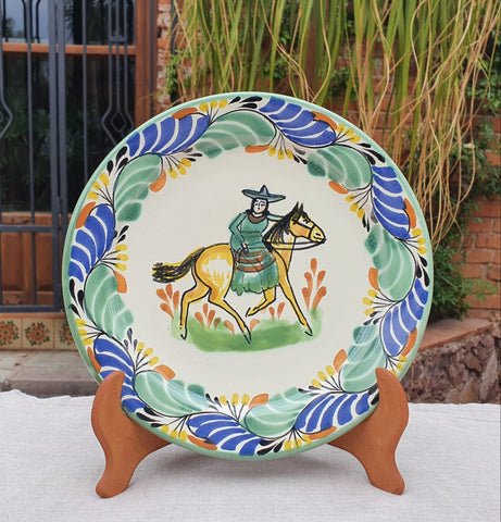 mexican plates charger dinner plates folk art hand painted