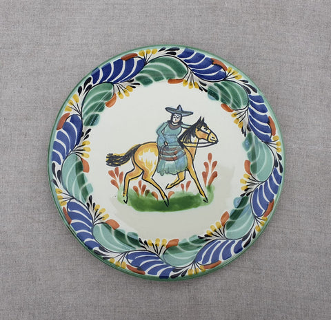 mexican plates dinner plate table decor cowgirl motive
