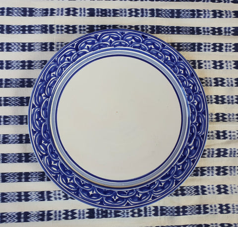 Plates-ceramic-plates-handcrafts-hand painted-Gorky Pottery-Majolica-Mexican Pottery-Gorky Gonzalez-Eat Different