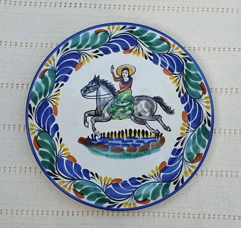 mexican paltes dinner setting ideas cowboy majolica ceramic