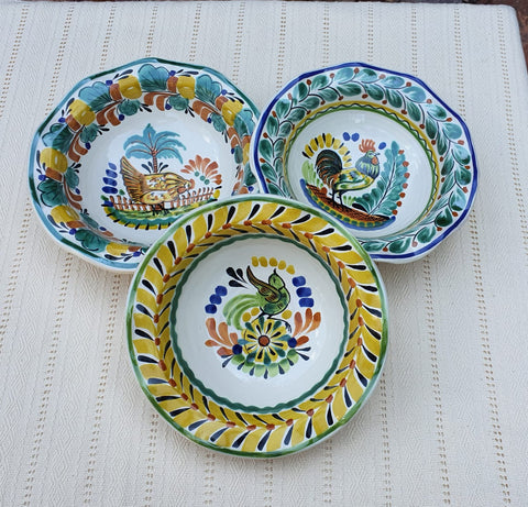 mexican-ceramic-pasta-bowl-handpainted-farmstyle-foodsafe-mexico
