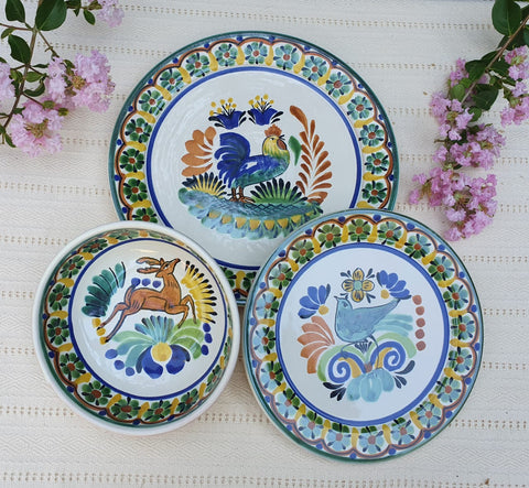 mexican-dish-sets-hand-made-mexico-ceramic