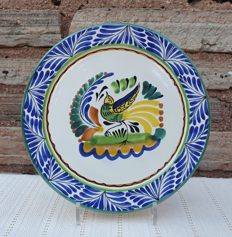 mexican plates pottery hand paited in mexico by gorky gonzalez workshop