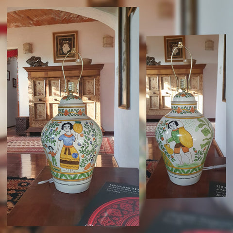 mexican-ceramic-lamp-hand-painted-interior-design-ranch-style-hand-made-mexico