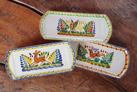 mexico-ceramics-pottery-decorative-tray-home-and-garden-talavera-majolica-animals-motives