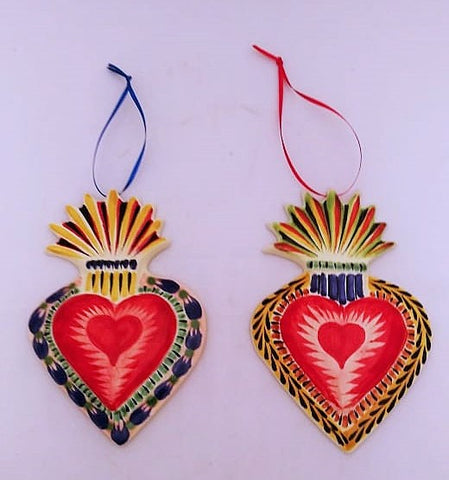 mexican folk art ceramic hand painted gorky workshop
