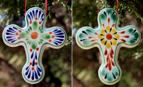 Ornament Cross Set of 2