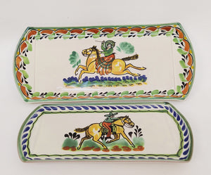 Cowboy Tray Set (2 pieces) MultiColors
