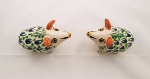 Wild Pig Salt and Pepper Shaker Set MultiColors