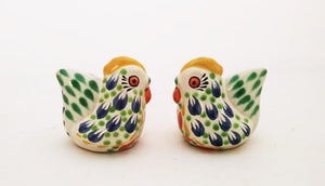 Hen Salt and Pepper Shaker Set MultiColors