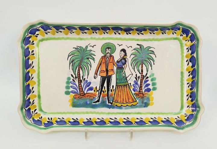 Wedding Tray / Serving Rectangular Platter 10.6*16.9