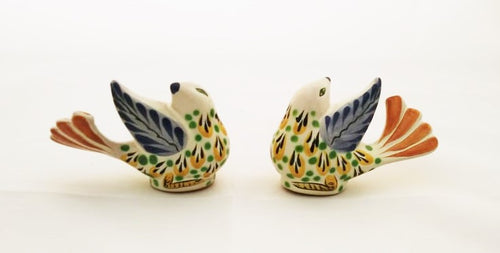 New Bird Salt and Pepper Shaket Set Yellow-Green Colors