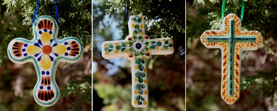 Ornament Cross Set of 3