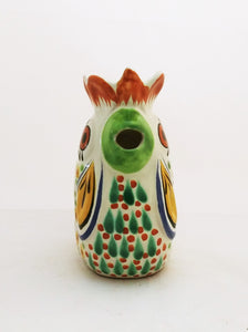 Rooster Creamer Pitcher 10 Oz Multicolor