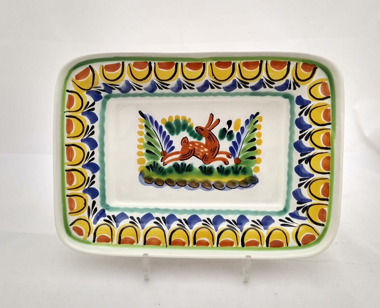 Rabbit Rectangular Bowl 11*7.9