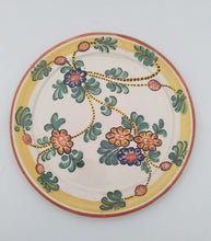 "Margarita Salad Plate 8.7"" D Yellow-Green Colors"
