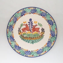 "Rabbit Charger Dinner Plate 12"" D MultiColors"
