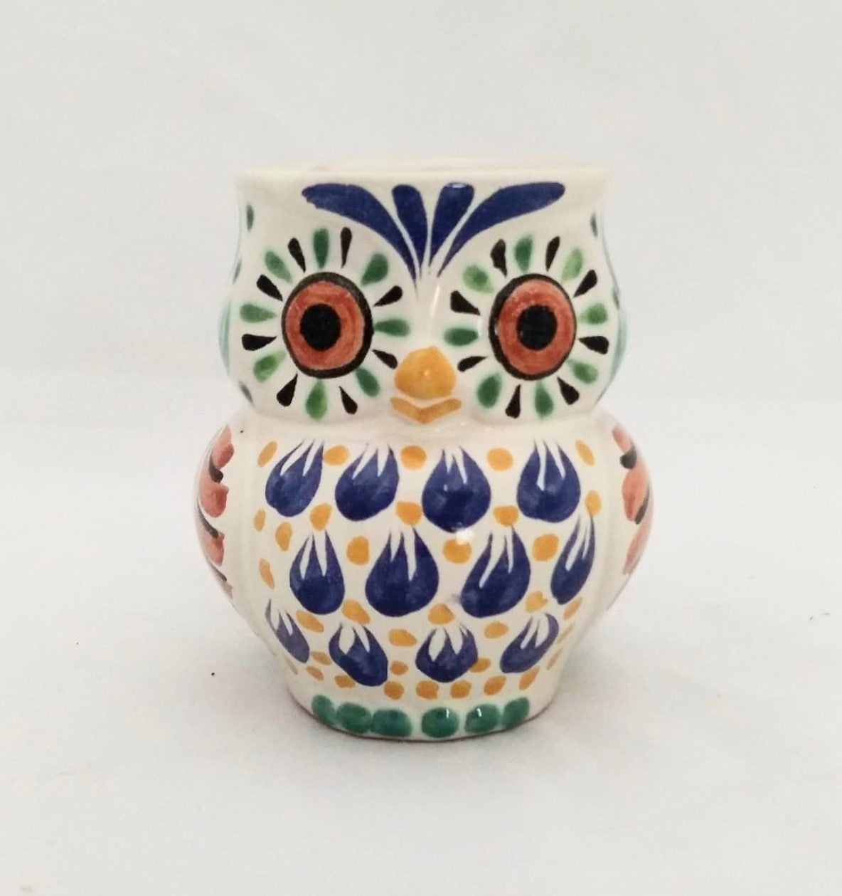 Owl Coffee Mug Mrs. 10.5 Oz Multicolor